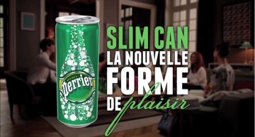 Perrier Slim Can – la nouvelle forme de plaisir