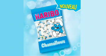 Haribo Chamallows les Schtroumpfs