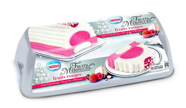Nestlé Bûche - Meringuée Fruits Rouges
