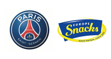 Des biscuits apéritif PSG par Europe Snacks