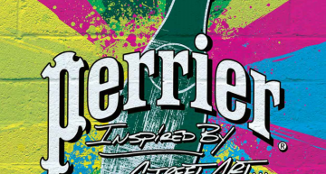Perrier se décline en Street Art