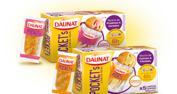 Daunat Pocket's, du nouveau au rayon snacking