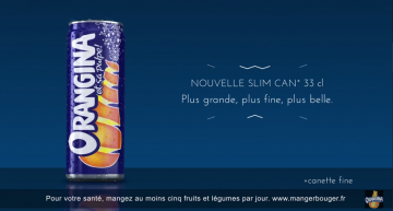 Nouvelle Slim Can Orangina